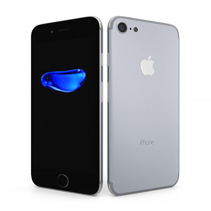 Cellulare Iphone con dimostrazione delle tipologie di riparazione