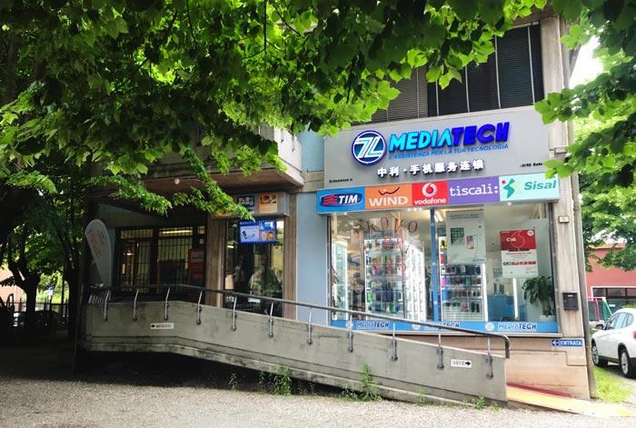 Riparazione Cellulari a Reggio Emilia Negozio Mediatech in Via Eritrea