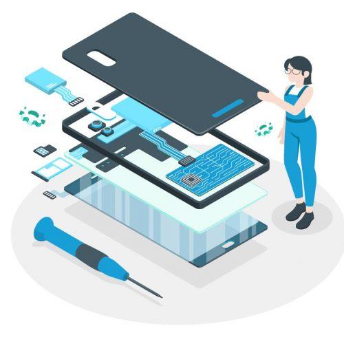 tecnici mediatech illustrazione